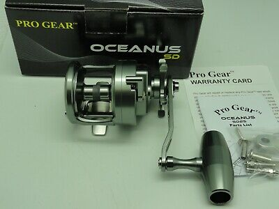 Oceanus SD25 Best Pro Gear Star Drag reel ever made FREE JAWS COVER RH
