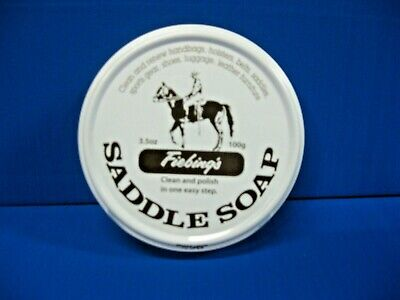 Fiebing's Saddle Soap Leather Cleaner WHITE 3.5oz