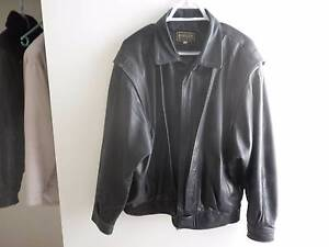 Bomber style leather jacket Spearwood Cockburn Area Preview