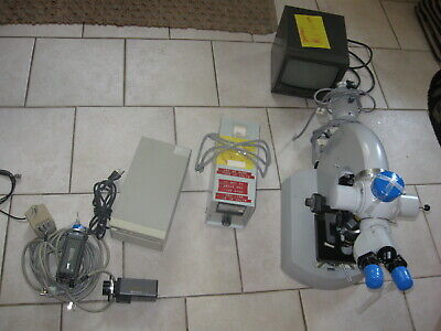 Zeiss Universal Microscope W Optovar Tube Head Camera Package Lot  47 16 45