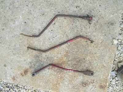 Farmall 460 560 Tractor Hydraulic Control Lever To Valve Linkage Control Rods