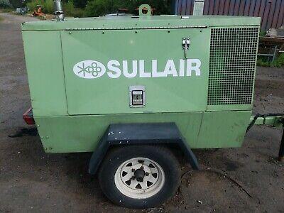 Sullair 125 Cfm Air Compressor Kubota Diesel Towable