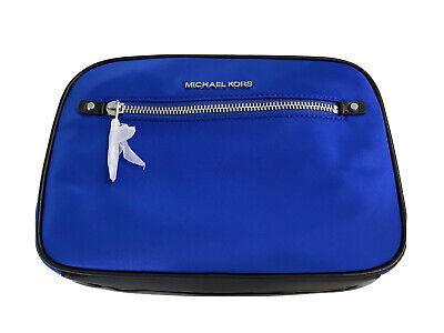 Michael Kors Jet Set Polly Grande Ew Nylon & Cuero Bolso Cruzado...