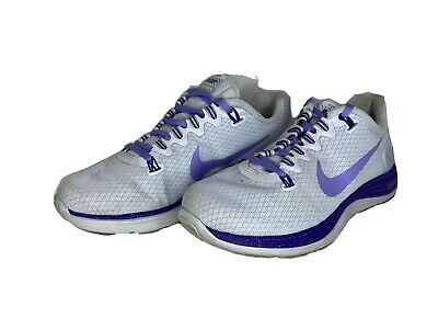 Nike LunarGlide 5 Maddy Gray Purple  Women's Running Shoes Size 7 H2O Repel