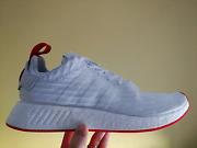 ADIDAS NMD R2 WHITE/RED UK10.5 US11 Canning Vale Canning Area Preview