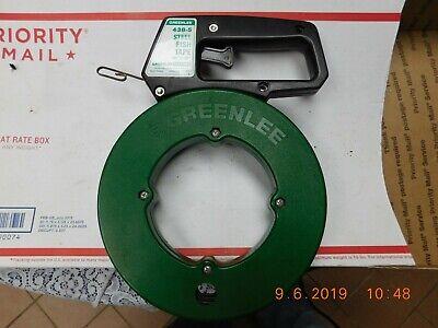 Greenlee 438-5 Steel Fish Tape 50 X 18