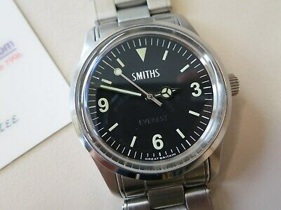 Armbanduhr Smiths Everest 36 mm PRS25 Black Dial, Automatik, selten online kaufen