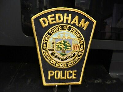 Company Closed, Patch Retired: City of Dedham, MA Police Patch