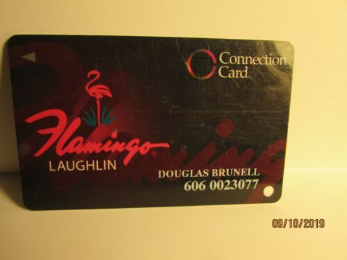Flamingo Hotel Casino- Laughlin, NV -Connection Card- Now Closed - mint