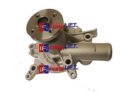 Mitsubishi Forklift Engine 4g634g64 Water Pump W Gasket New Part Cl920230