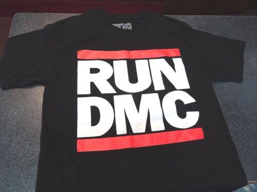 Used Adult Large Run DMC Cotton T Shirt-Nice Run Dmc