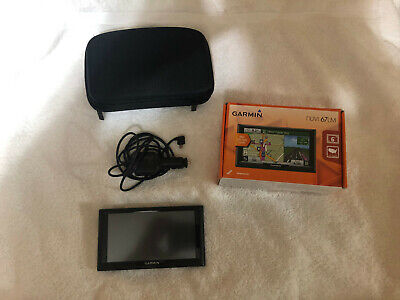 "GARMIN NUVI 67LMT (Lifetime US MAP/TRAFFIC Updates) 6"" Auto GPS BUNDLE *2020 MAP"