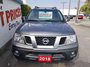 2018 Nissan Frontier PRO-4X SUPER CLEAN!! 4X4, CREW CAB, NAVI...