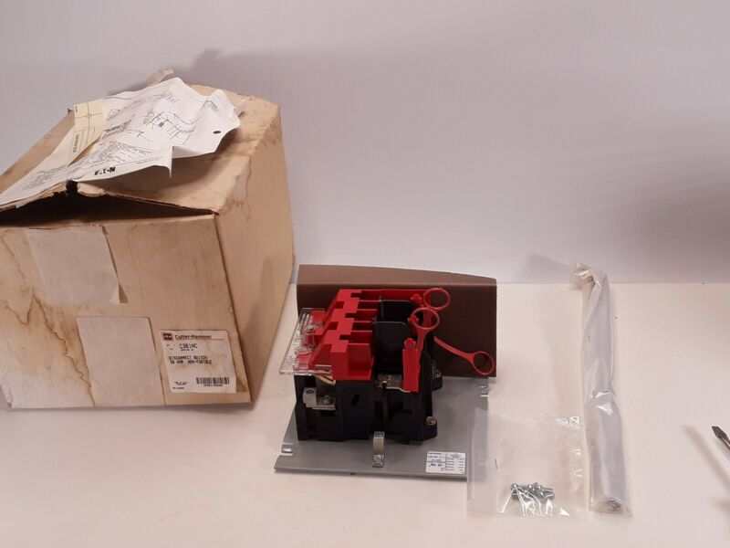 Cutler Hammer C361NC Non-Fusible Disconnect Switch 30A 600V NEW WITH BOX