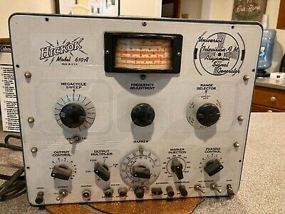 Vintage Hickok 610a Universal Television Alignment Signal Generator Parts Only