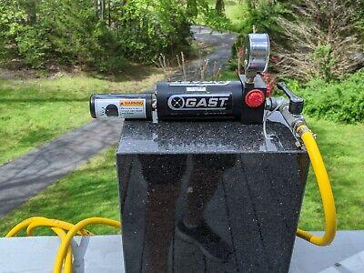 Gast Vg-130-00-00 12 Cfm Open Flow Venturi Vacuum Generator - Needs New Gasket
