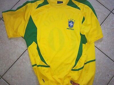 T-shirt Brasilien- Rivaldo, Gr XL