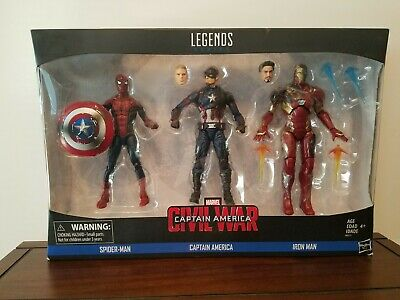 Marvel Legends - Captain America: Civil War 3-Pack