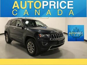 2014 Jeep Grand Cherokee Limited SUNROOF|POWER & HEATED SEATS...