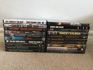 20 Action DVDs - $20