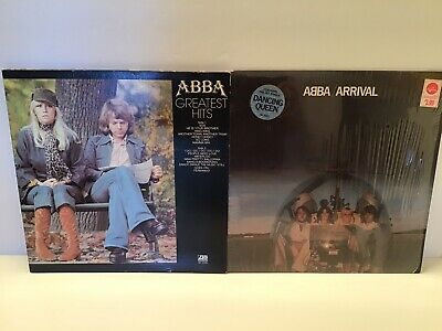 Abba lp lot of 3- Abba, Abba arrival & greatest hits-vg+ originals Dancing Queen