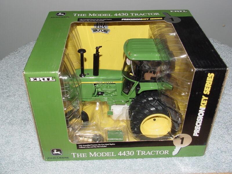 ERTL 1/16 JOHN DEERE MODEL 4430  PRECISION KEY SERIES #1 TRACTOR NIB
