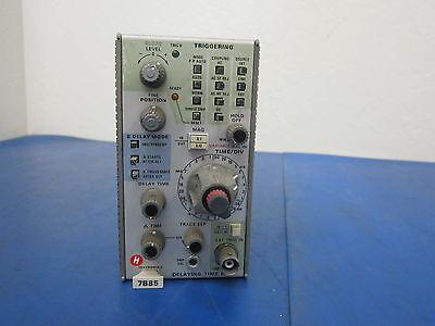 Tektronix Delaying Time Base 7b85 Plug-in Module