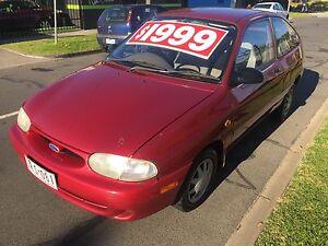 1997 Ford Festiva Hatchback Eltham Nillumbik Area Preview