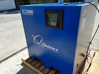 Quincy Compressor Eco-dri Model Qed-450.