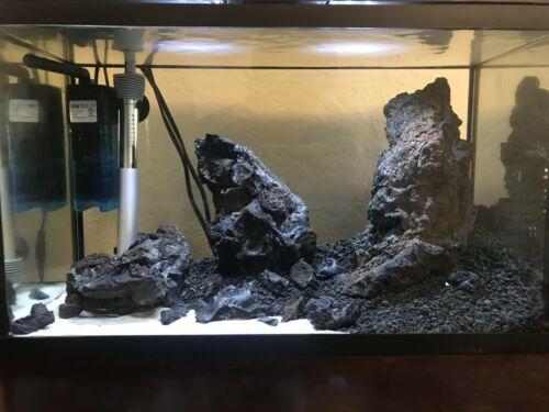 Black Lava Gravel - Aquarium Substrate or Decor