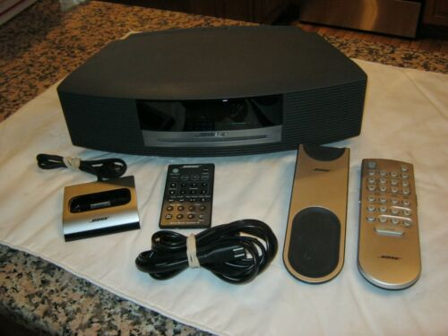 Bose Wave Music System III CD Player With Two Remote Controls & Wave Dock