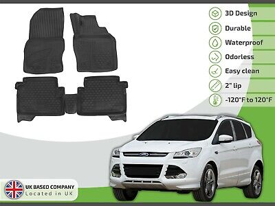 2 X CLIP REAR SEAT COVER BACK PROTECTOR WATERPROOF 08-12 FORD KUGA