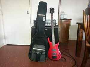 PERFORMER BY SPECTOR BASS GUITAR, 330 SPIDER AMP & SPEAKER Ellenbrook Swan Area Preview