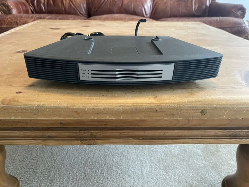 Bose Wave Music System 3-Disc Multi-CD Changer sliver working condition