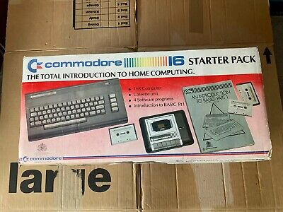 Commodore 16 C16 Computer Starter Pack Boxed & Working FREE UK POSTAGE