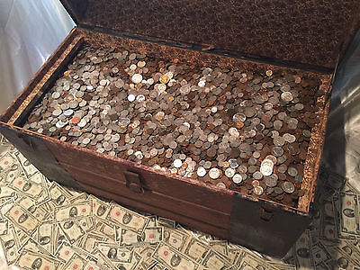 Old Estate Sale Lot Silver Coins  999 Gold Bullion Us Collection Money Set Hoard