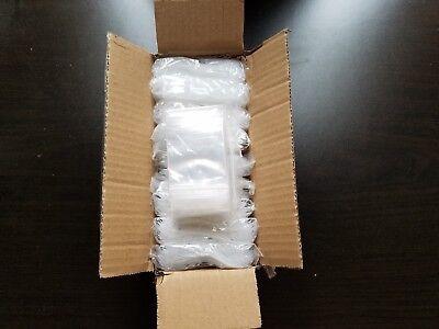 1000 Zip Seal Bags 2 X 2 Clear 2 Mil Plastic Reclosable Top Lock Mini Baggies