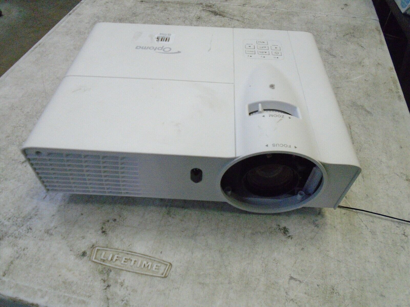 Optoma DLP Projector TX635-3D Capable XGA HDMI VGA 3,500 Lumens (478 Hours)