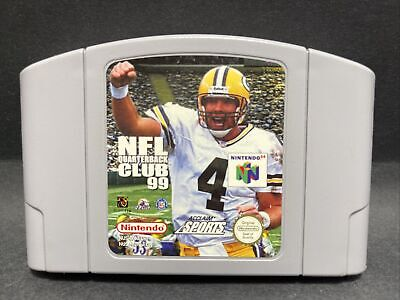 N64 Nintendo 64 Game - NFL Quarterback Club 99 - PAL