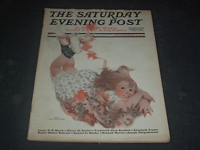 1918 NOVEMBER 2 SATURDAY EVENING POST MAGAZINE - FULL PAGE COLOR ADS - O11116 - November Coloring Pages
