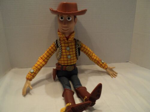 """Disney, Toy Story, 15"""" Woody, Pull-String, Talking Doll with Hat"""