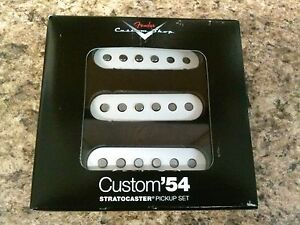 New-Fender-Custom-Shop-039-54-Strat-Stratocaster-Electric-Guitar-Pickup-Set-Pickups