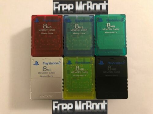 SONY PS2 8MB FMCB Memory Card Free Mcboot 1.966 EMULATORS + CUSTOM INSTALLS