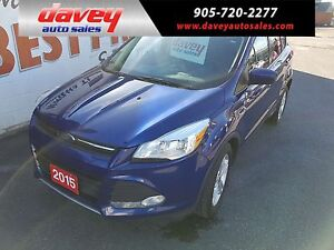 2015 Ford Escape SE LEATHER HEATED SEATS, BLUETOOTH, BACK UP...