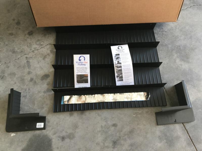 "Window Door Sill Flashing Kit, WOF30 Corners WOF40 Straights & Tape, 4-9/16"" NEW"