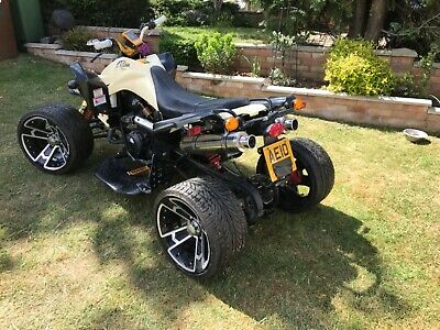 Road legal 350cc quad bike