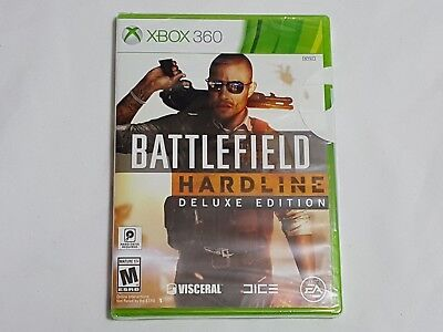 NEW (w/ WEAR) Battlefield Hardline DELUXE EDITION XBox 360 SEALED Game US NTSC for sale  Shipping to India