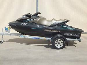 2016 SEADOO GTX 300 LIMITED JET SKI (DEMO) DUNBIER TRAILER.19 HRS Shepparton Shepparton City Preview