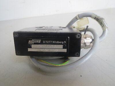 Traub Kissling Limit Switch D7277 Wildberg 5 65 F16 101 D Lot Traub-51 Remi