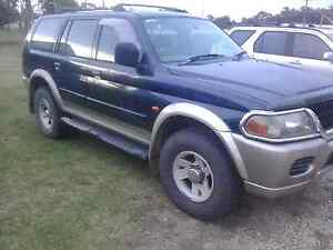 For sale 2002 mitsubishi challenges Well come with 12 mouths rego Taree South Greater Taree Area Preview